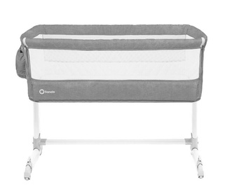 Lionelo Travel Bed Theo Grey