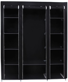 Songmics Wardrobe Black 180x150cm