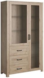 Шкаф-витрина Gala Meble Aveiro W2D3S Hickory Jackson, 120x44x209 см
