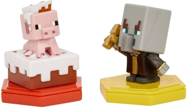 Minecraft Earth 2-Pack Pig and Undying Evoker Boost Minifigures