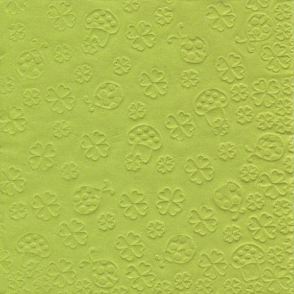 Susy Card Napkin 33 x 33cm Green 11376548
