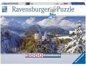 Пазл Ravenburger Panorama Neuschwanstein Castle 166916, 2000 шт.
