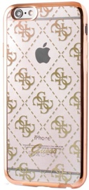 Guess 4G Design Ultra Thin Back Case For Apple iPhone 5/5s/SE Gold