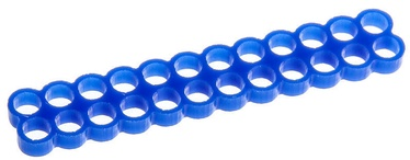 E22 Stealth Cable Comb 24 Slots 4mm Blue