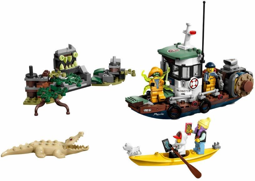 Конструктор LEGO®Hidden Side 70419 Старый рыбацкий корабль