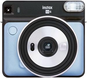 Fujifilm Instax Square 6 Aqua Blue + Instax Square Glossy