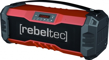 Bezvadu skaļrunis Rebeltec SoundBox 350 Red, 18 W