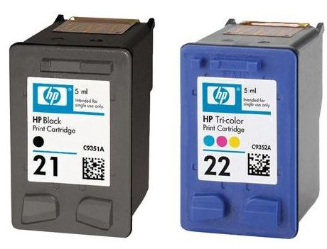 HP NO 21/22 Combo Pack