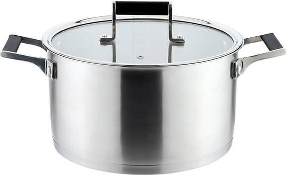 Maestro Casserole With Lid 3l