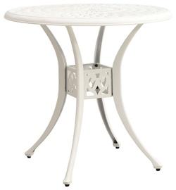 Dārza galds 315584, balta