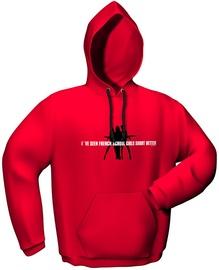 GamersWear Schoolgirls Hoodie Red XL