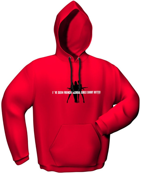 GamersWear Schoolgirls Hoodie Red XL