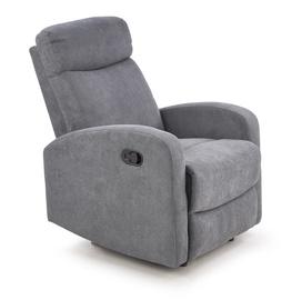 Atzveltnes krēsls Halmar Oslo 1S, pelēka, 75 cm x 100 cm x 79 cm