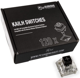 Glorious PC Gaming Race Kailh Black Switches 120pcs