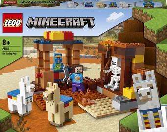 Конструктор LEGO Minecraft Торговый пост 21167, 201 шт.