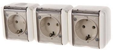 REML 229305200 Triple Socket Transparent