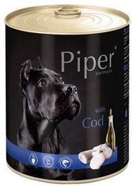 Влажный корм для собак (консервы) Dolina Noteci Piper Animals Wet Dog Food Cod 800g