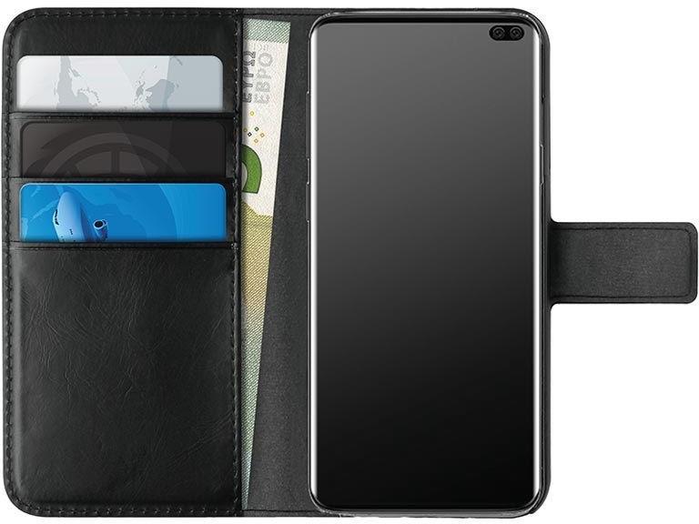 Puro Booklet Wallet Case For Samsung Galaxy S10 Plus Black