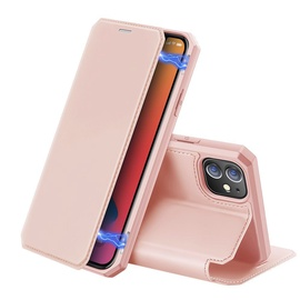 Dux Ducis Skin X Bookcase For Apple iPhone 12/12 Pro Pink