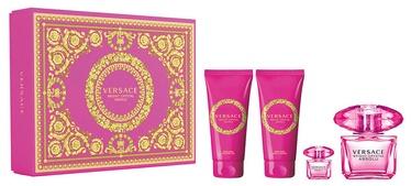 Komplekts sievietēm Versace Bright Crystal Absolu 4pcs Set 295 ml EDP