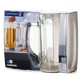 Пивной стакан Luminarc Hamburg 9923, 0.33 л, 2 шт.