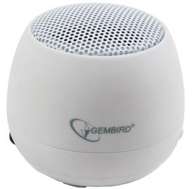 Bezvadu skaļrunis Gembird SPK-103 White, 2 W
