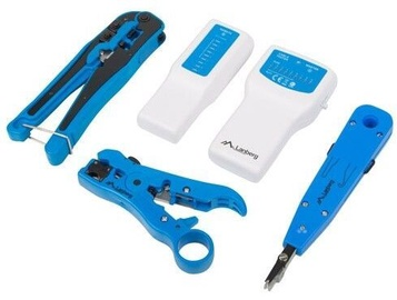 Lanberg Network Toolkit with Cable Tester
