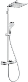 Hansgrohe Crometta E 240 Shower System with Thermostat Chrome