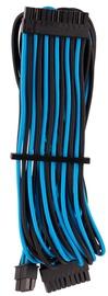 Corsair Premium Sleeved 24-pin ATX cable Type 4 Gen 4 Blue/Black