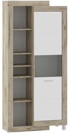 Tuckano Ultra Shelf Unit 910x1960x420mm Oak/White