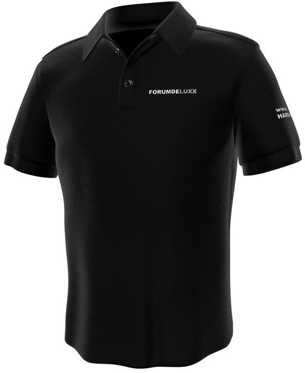 GamersWear Hardwareluxx Polo Black L