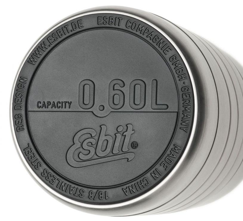 Esbit Majoris Food Jug 600ml Silver