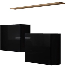ASM Switch SB I Hanging Cabinet/Shelf Set Black/Wotan