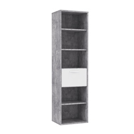 Forte Canmore Shelve Grey/White CNMR711