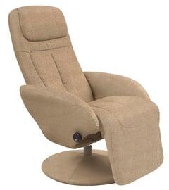 Atzveltnes krēsls Halmar Optima 2 Beige, 77x80x101 cm