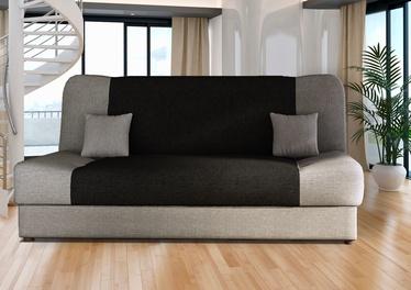 Dīvāngulta Platan Jas 02 Grey/Black, 188 x 85 x 90 cm