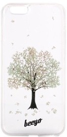 Beeyo Blossom Back Cover For LG K4 Light Green Tree Transparent