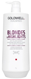 Šampūns Goldwell Dualsenses Blondes & Highlights Anti-Yellow, 1000 ml