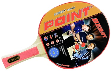 Point Ping Pong Racket Derby With Case