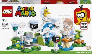Konstruktors LEGO Super Mario Lakitu debesu pasaules paplašinājuma maršruts 71389, 484 gab.