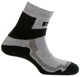 Zeķes Mund Socks Nordic Walking Black, M, 1 gab.