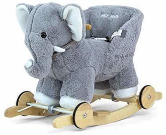 Milly Mally Elephant Polly Gray Elephant