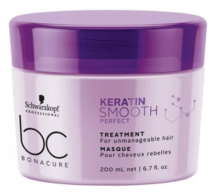 Schwarzkopf BC Keratin Smooth Perfect Micellar Mask 200ml