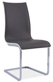 Ēdamistabas krēsls Signal Meble H133 White/Grey, 1 gab.