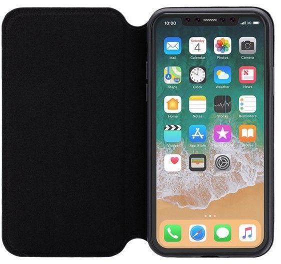 3Sixt Slim Folio Case For Apple iPhone XR Black
