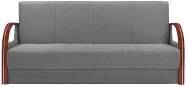 Dīvāngulta Black Red White Jeff 3K Grey, 201 x 90 x 87 cm
