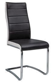 Ēdamistabas krēsls Signal Meble H353 White Black, 1 gab.