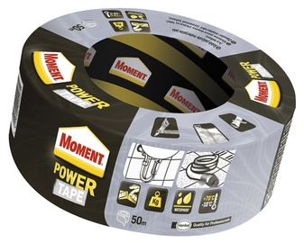 Henkel Moment Adhesive Tape Silver 50m