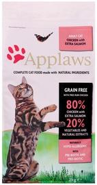 Sausā kaķu barība Applaws Adult Cat Chicken & Extra Salmon 2kg