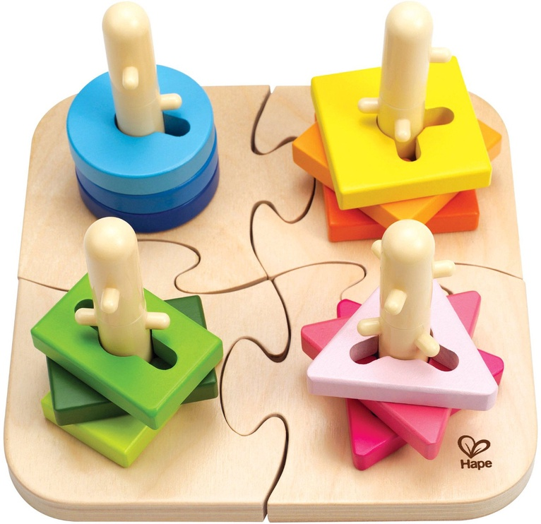 Пазл Hape Creative Peg Puzzle E0411